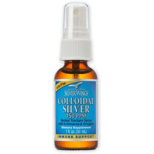 Colloidal Silver Spray 50 ppm - 1 oz