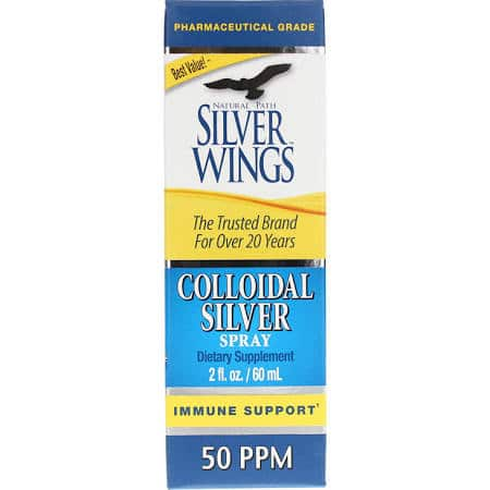Colloidal Silver Spray 50 ppm - 2 oz