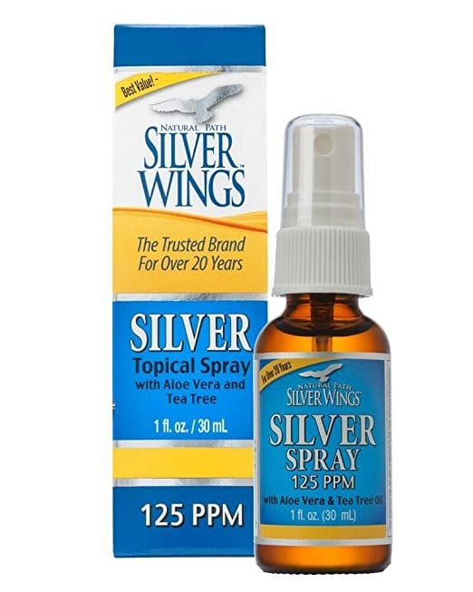 Colloidal Silver with Tea Tree & Aloe Spray - 1 oz