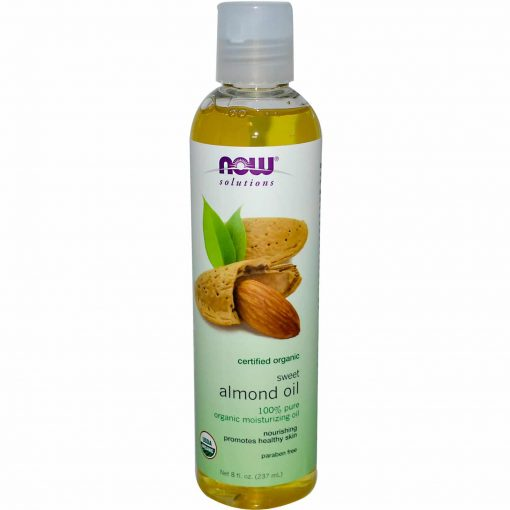ORGANIC ALMOND OIL 8 OZ