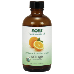 ORGANIC ORANGE OIL  4 OZ