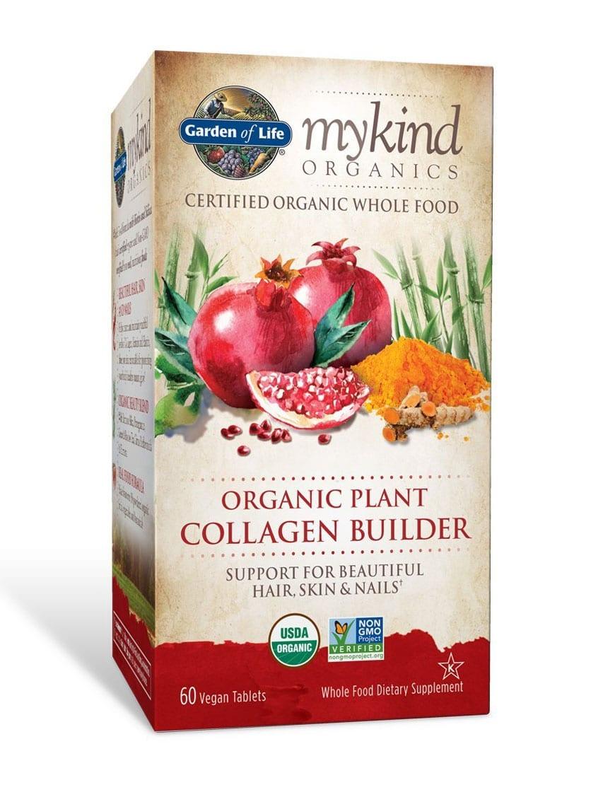 Mykind Organics Plant Collagen Builder 60 Count Fresh